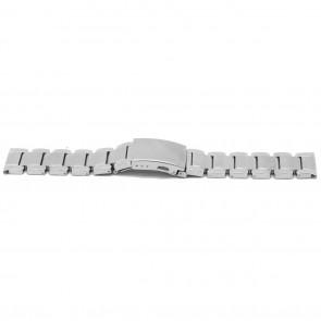 Watch strap YJ35 Metal Silver 26mm