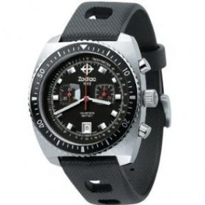 Zodiac watch strap ZO2240 Rubber Black