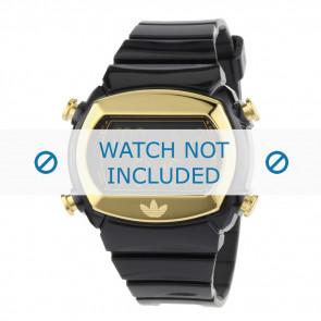Adidas watch strap ADH1572 Silicone Black 22mm