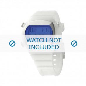 Adidas watch strap ADH1936 Silicone White 22mm