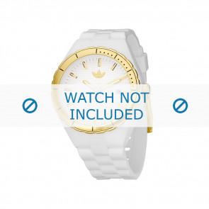 Adidas watch strap ADH2026 Silicone White 22mm