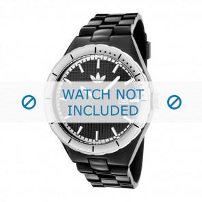 Adidas watch strap ADH2031 Silicone Black 18mm