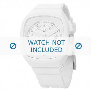 Adidas watch strap ADH2036 Silicone White 22mm