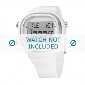 Adidas watch strap ADH2044 Plastic White 21mm