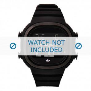 Adidas watch strap ADH2045 Silicone Black 24mm