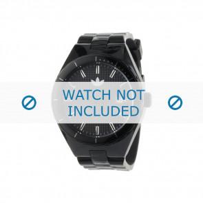 Adidas watch strap ADH2047 Silicone Black 22mm