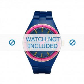 Adidas watch strap ADH2049 Silicone Blue 22mm