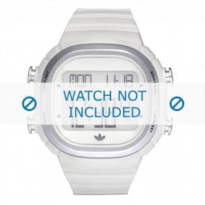 Adidas watch strap ADH2120 Plastic White 24mm