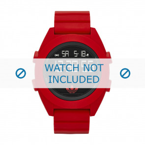 Adidas watch strap ADH2909 Silicone Red 24mm