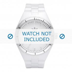 Adidas watch strap ADH2124 / ADH2033 / ADH2123 Rubber White 13mm