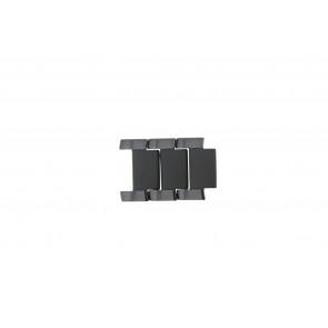 Armani AR-1451 Links Steel Black 21mm