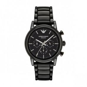 Watch strap Armani AR1507 Ceramics Black
