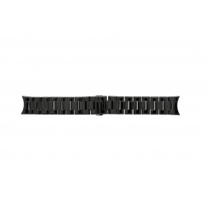 Armani watch strap AR-1400 Ceramics Black 22mm