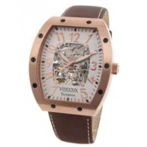 Vendoux watch automatic pink LR 12912-02