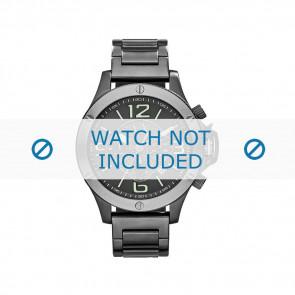 Armani watch strap AX-1507 Steel Grey 22mm
