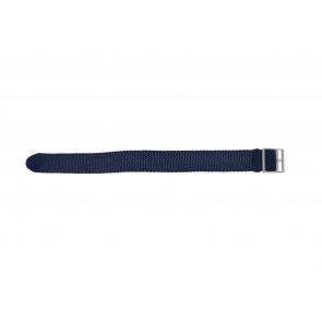 Perlon strap 20mm light blue