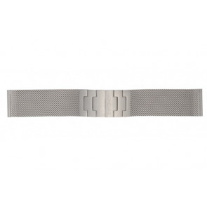 Mondaine watch strap BM20031 / 12622.ST.2 Metal Silver 22mm