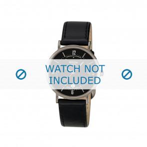 Boccia watch strap 3154 Leather Black 16mm