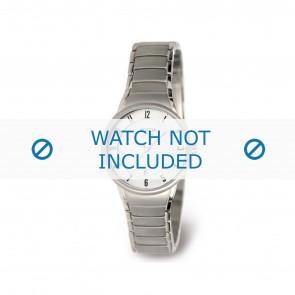 Boccia watch strap 3158-01 Titanium Silver 14mm