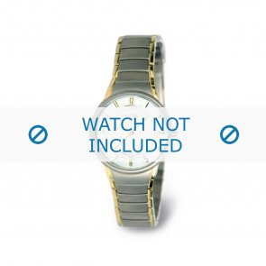 Boccia watch strap 3158-02 Titanium Silver 15mm