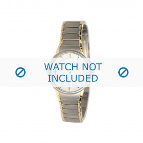 Boccia watch strap 3159 Titanium Silver 16mm