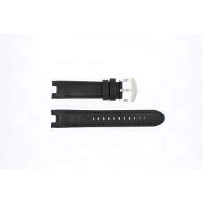 Buddha to Buddha watch strap 46mm / BTB.M.D.3H.02 Leather Black 21mm + black stitching