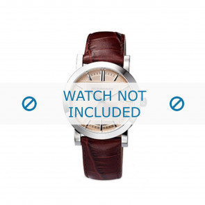 Burberry watch strap BU1356 Leather Brown 20mm