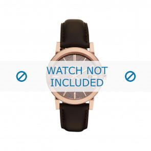 Burberry watch strap BU-9013 Leather Brown 20mm