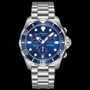 Certina watch strap C032.417.11.041.00 / C605019661 Metal Stainless steel