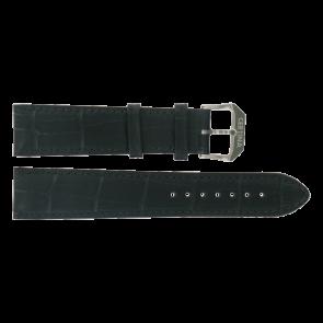 Certina watch strap C600015907 21/18MM Leather Black 21mm + black stitching