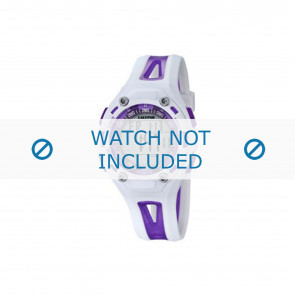 Calypso watch strap K5666-2 Plastic Purple 21mm