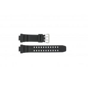 Casio watch strap G-1000-1A Rubber Black 14mm