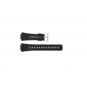 Casio watch strap DW-5000SL-1 / 10512401 / 5600E / 5600E-1 32 / G-5600 / G-5700 Silicone Black 16mm