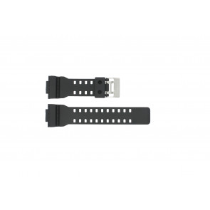 Casio watch strap G-8900-1 / GA-100-1 / GA-110 / GA-110MB / 10347688 Plastic Black 16mm