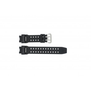 Casio watch strap G9200-1 Rubber Black 16mm