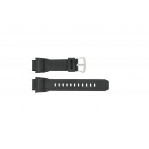 Casio watch strap G-9300-1 / 10388870 Silicone Black 20mm