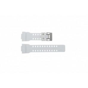 Casio watch strap GA100A-7AW Rubber White 27mm