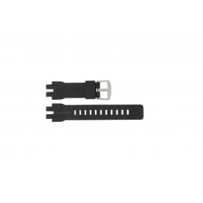 Casio watch strap PRW-6000 Rubber Black 16mm