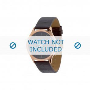 Calvin Klein watch strap K26215 Leather Brown 19mm