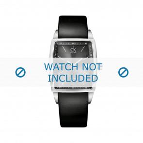 Calvin Klein watch strap K30411 Leather Black