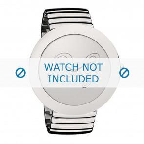 Dolce & Gabbana watch strap DW0280 Metal Silver