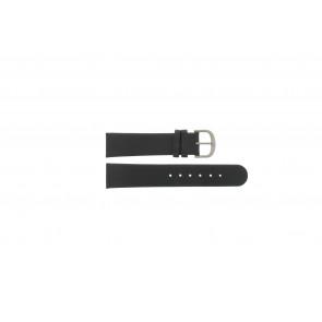 Danish Design watch strap IQ13Q672 / IQ12Q993 / DDBL20 Leather Black 20mm
