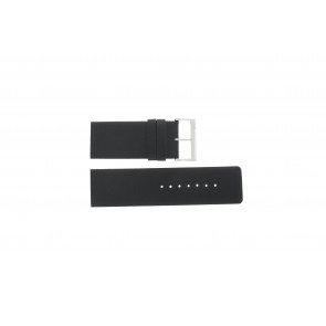 Davis watch strap BB0330 Leather Black 30mm