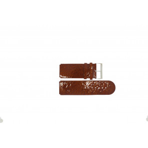 Jacques Lemans watch strap DC-218 / DC-254 Leather Brown 26mm