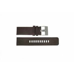 Diesel watch strap DZ-1467 Leather Brown 24mm