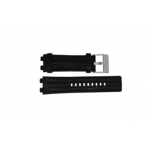 Diesel watch strap DZ-4118 Leather Black 20mm