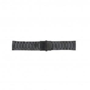 Diesel watch strap DZ4318 / DZ4283 / DZ4316 / DZ4355 / DZ4309 Metal Black 26mm
