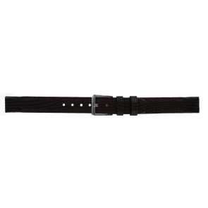 DKNY watch strap NY-3435 Leather Brown 14mm