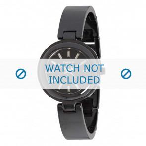DKNY watch strap NY8549 Ceramics Black