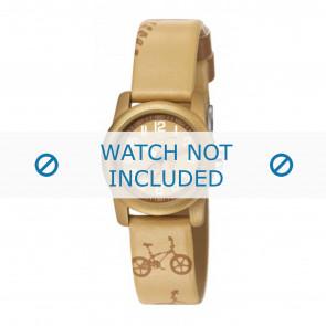 Esprit watch strap ES000FA4-40TAU / 000FA4045 Leather Taupe